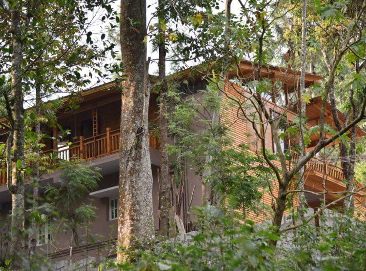 Wooden House Outside