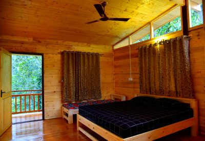 Wooden House Bedroom