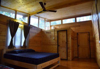 Smokey Haven Wooden Bedroom